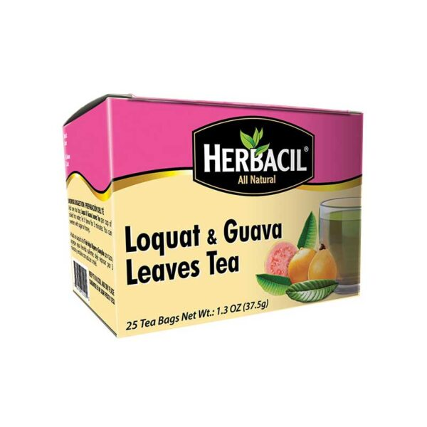 Loquat-guava-leaves-tea