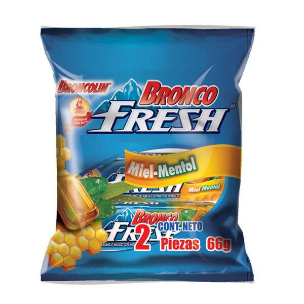 bronco-fresh-miel-menthol